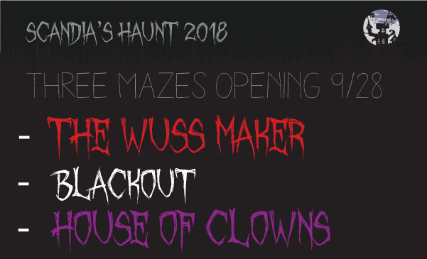 Scandia's haunted house 2014